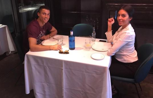 Cristiano Ronaldo takes pregnant girlfriend Georgina Rodriguez out for lunch date in Madrid