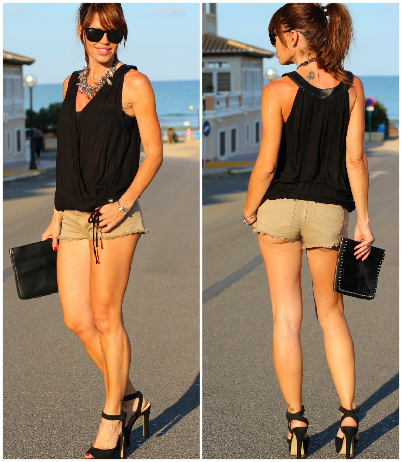 Outfit Verano 2014 - Met T-shirts - Fashion Blogger Alicante