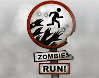 Zombies, Run app.