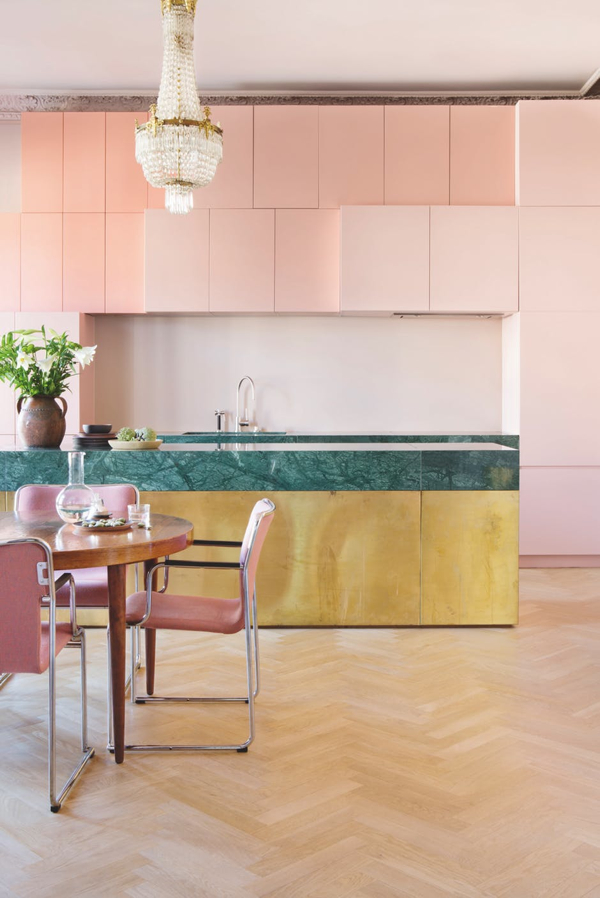 A Deliciously Colorful Apartment in Oslo- photographer- Inger Marie Grini-design addict mom