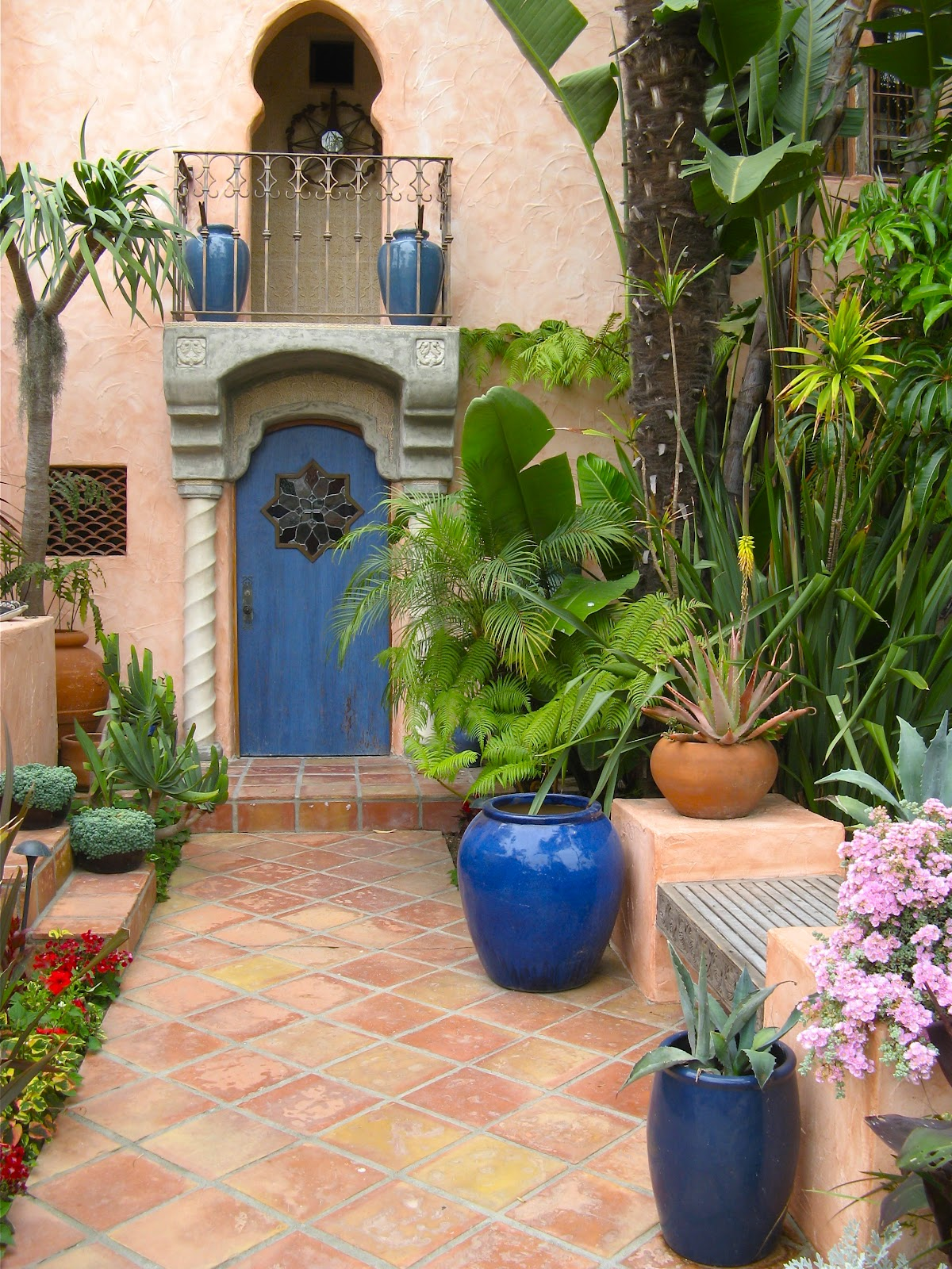 Moroccan Garden On Pinterest