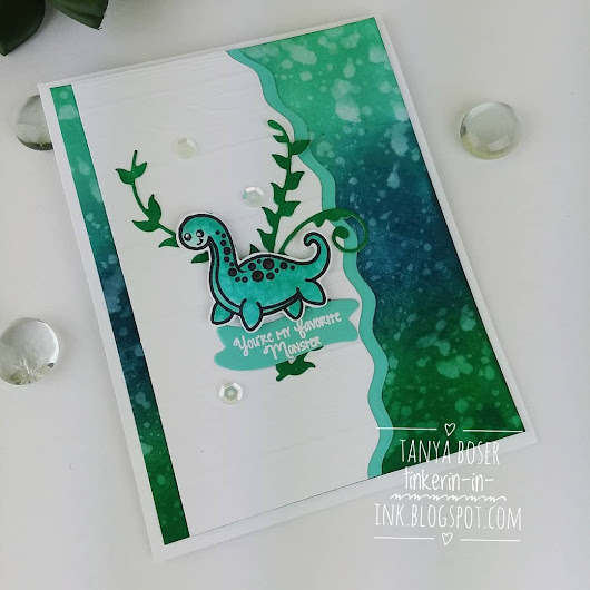 Kindred Stamps: Loch Ness Monster