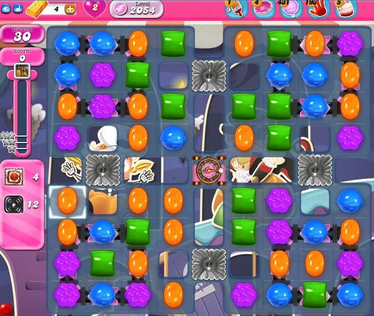 Candy Crush Saga 2054