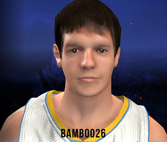 NBA 2K14 Timofey Mozgov Face & Hair Mod