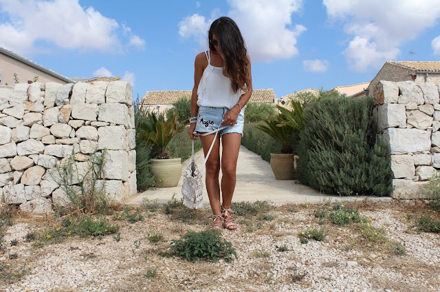 BLOGGER, SICILIA, OUTFIT SHORTS