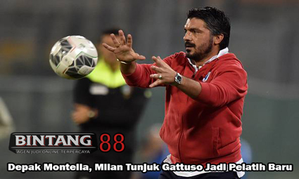 Depak Montella, Milan Tunjuk Gattuso Jadi Pelatih Baru
