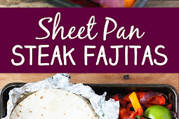 Recipe - Sheet Pan Steak Fajitas