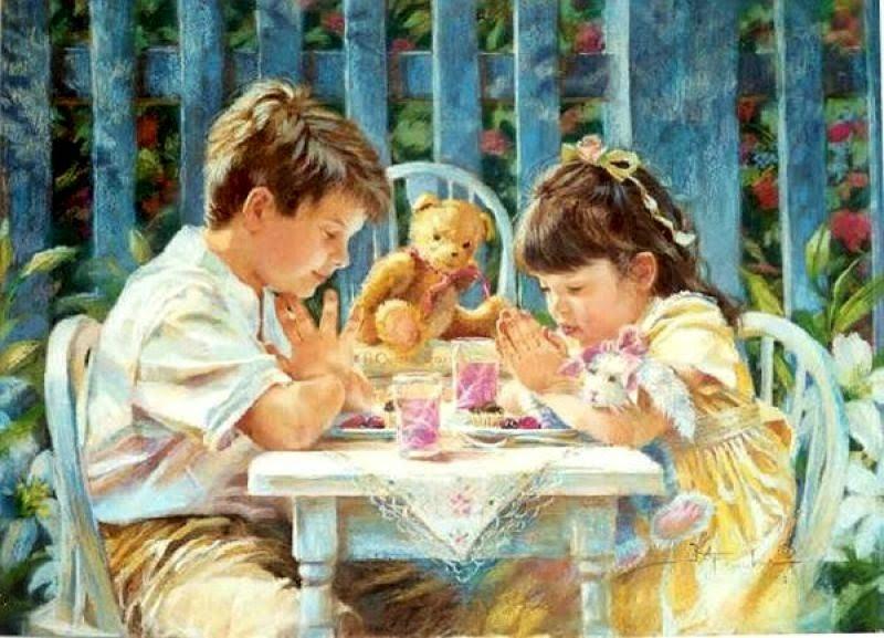 Preciosas Imágenes De Niños Orando.