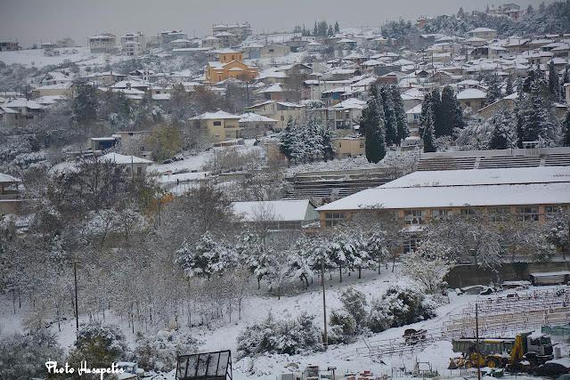Ο Κολινδρός στα χιόνια. (Photo-Xasapetis)