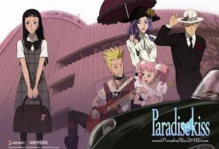 paradise kiss personajes moda harajuku fashion ai yazawa