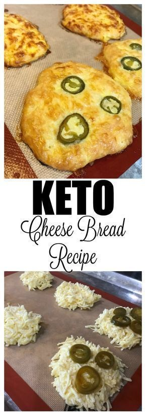 Quick Keto Jalapeno Cheese Bread Recipe (Only 3 Ingredients)