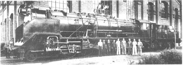 locomotora santa fe talleres maquinista terrestre maritima fabrica