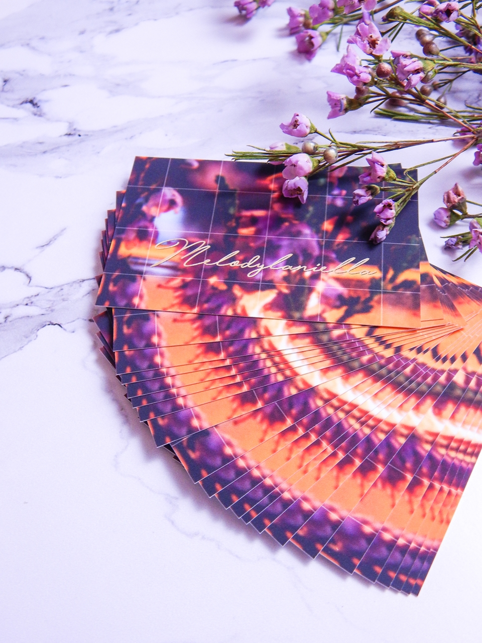 6 colour.me colourme colour me wizytówki druk wizytówek notesów kompleksowa obsługa firm gdzie wydrukować wizytówki zaproszenia kartki świąteczne melodylaniella recenzja