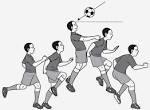 Pada gambar tersebut dalam permainan sepak bola merupakan teknik gerakan …