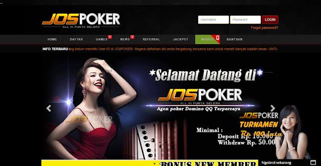 LINK ALTERNATIF JOSPOKER TERBARU | Daftar Situs Texas Poker Terpercaya