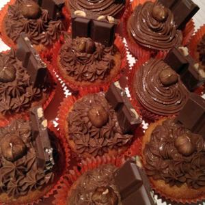 Cupcakes au Nutella®... Des Cupcakes... au NUTELLA® !!! Est-il besoin d'en dire plus ?!