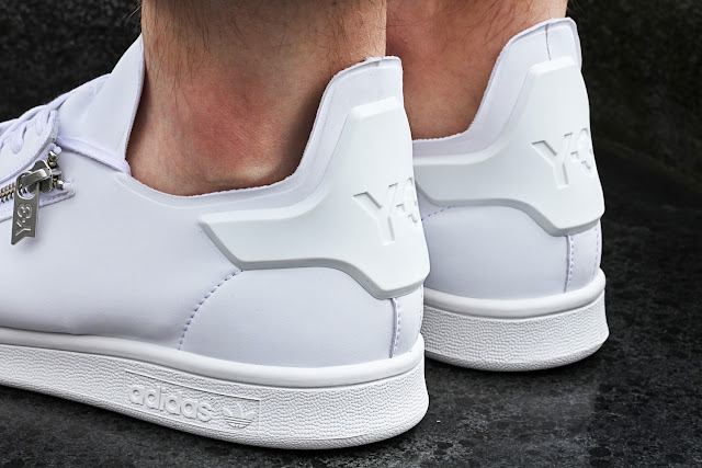 Stan Smith Y-3 Zip all-white