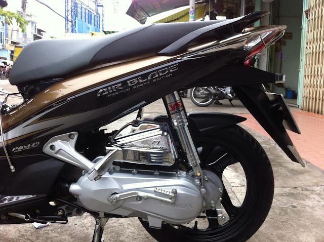 Airblade 110 sơn màu đồng đen rin đẹp