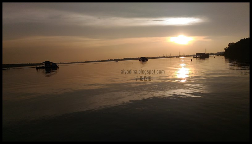 Sunset at Malaysia