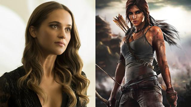 """Alicia Vikander La nueva """"Lara Croft"""""""