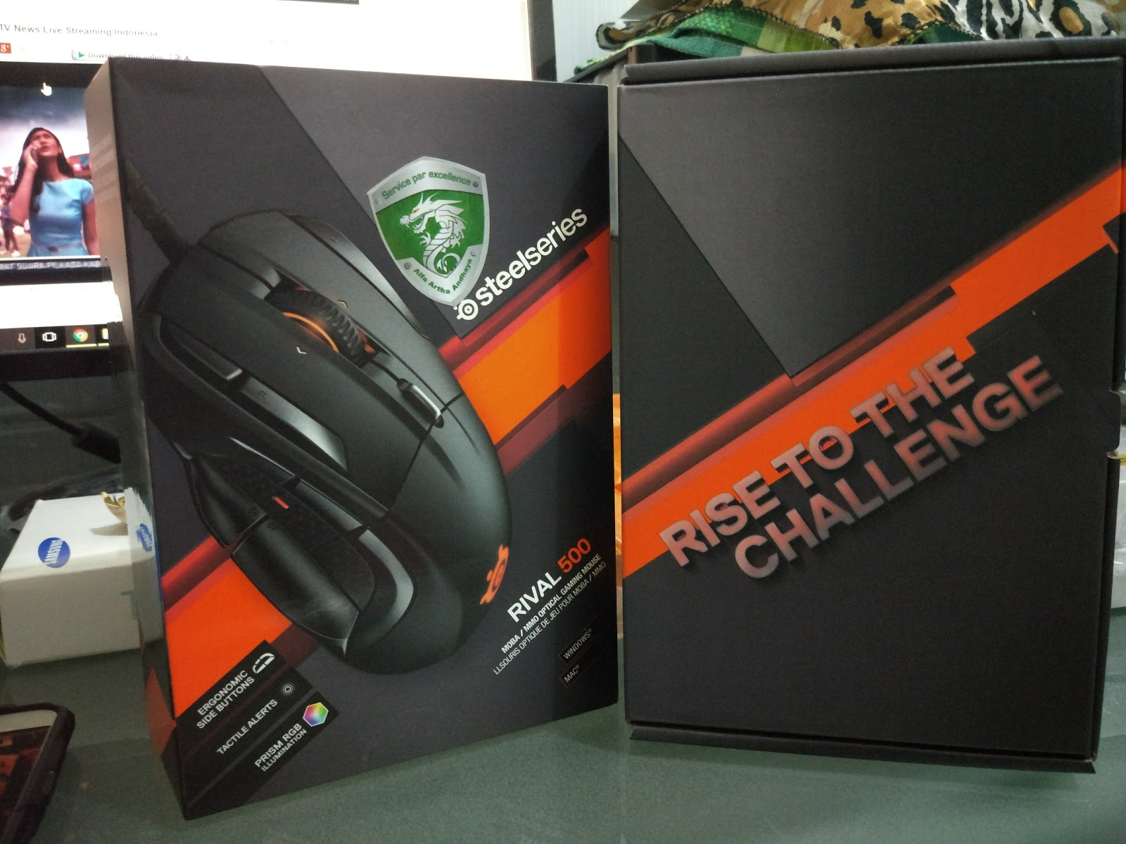 Steelseries Rival 500 Review Buttons 100 Dota 2 Inner Box