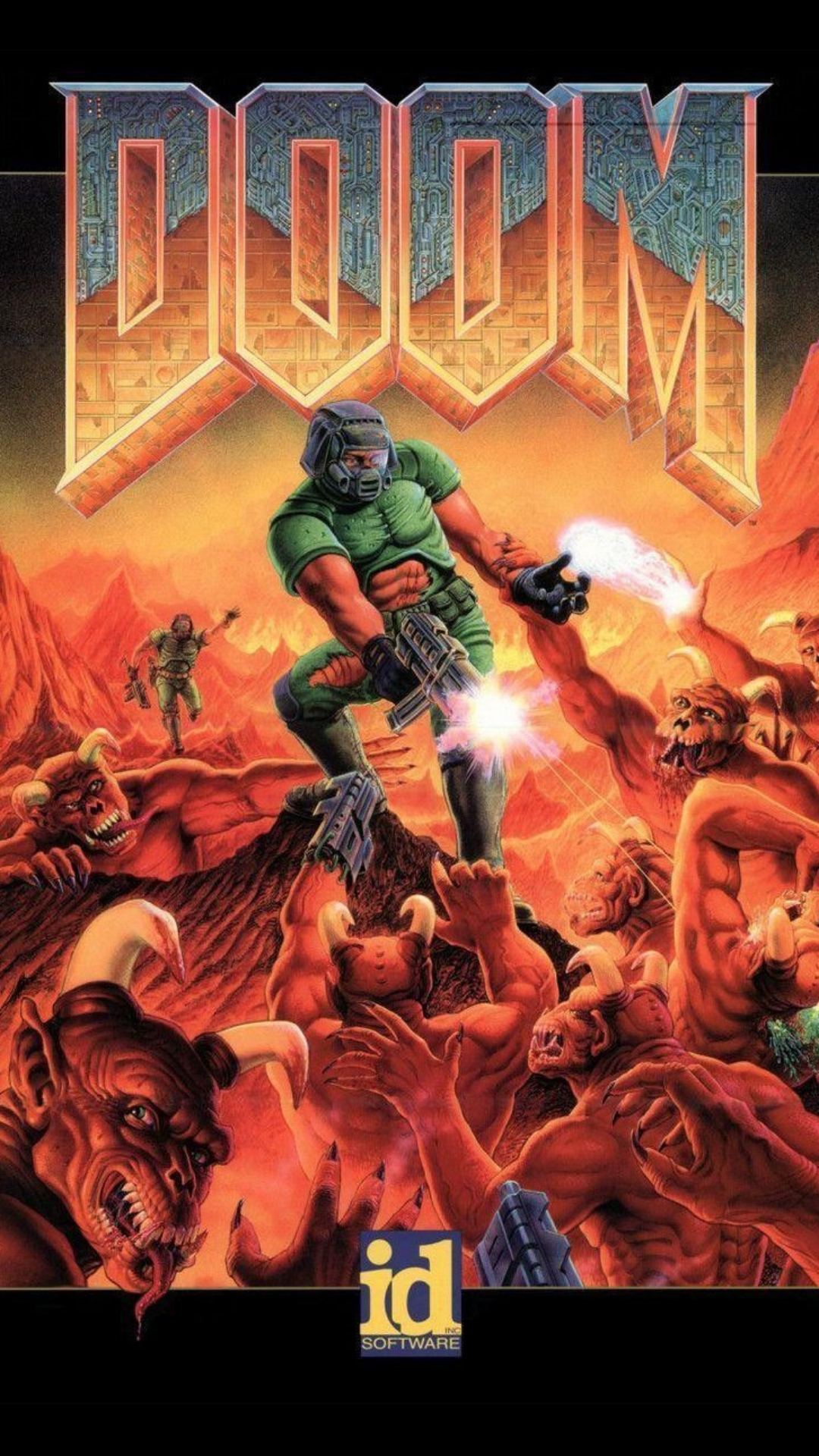 doom eternal wallpaper in 1080p to mobile
