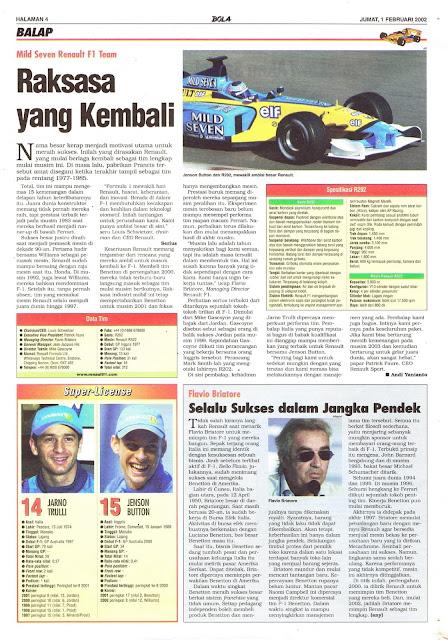 MILD SEVEN RENAULT F1 TEAM