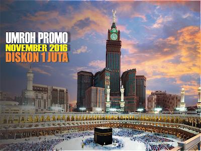 Biaya Paket Umroh Bulan November 2016 by Saudi Airlines | Travel Umroh Alhijaz Jakarta Timur
