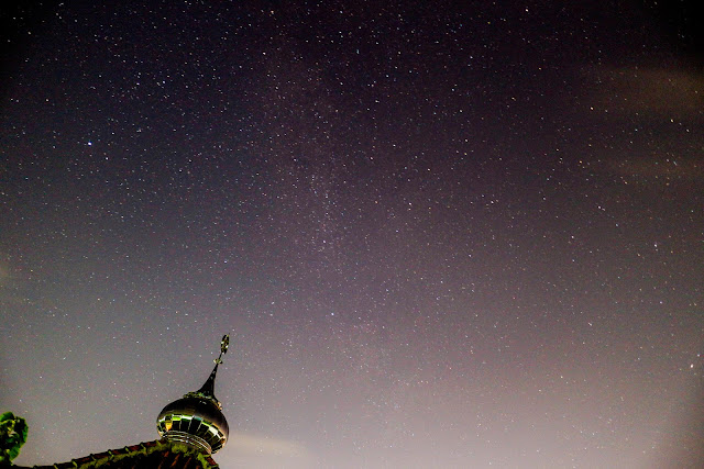 Memotret Milky Way dengan Mirrorless Canon EOS M10