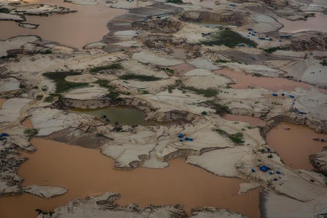 Toxic mercury poisoning the Amazon