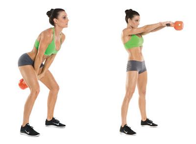 Kettlebell Swing- Motapa kam karne ki exercise