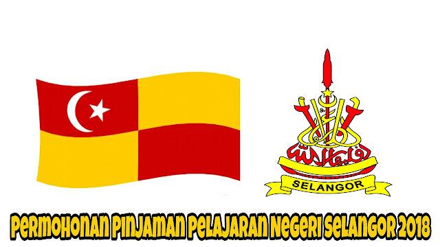 Permohonan Pinjaman Pelajaran Negeri Selangor 2018