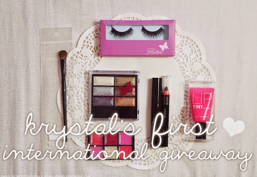 GIVEAWAY on Krystal's Blog!