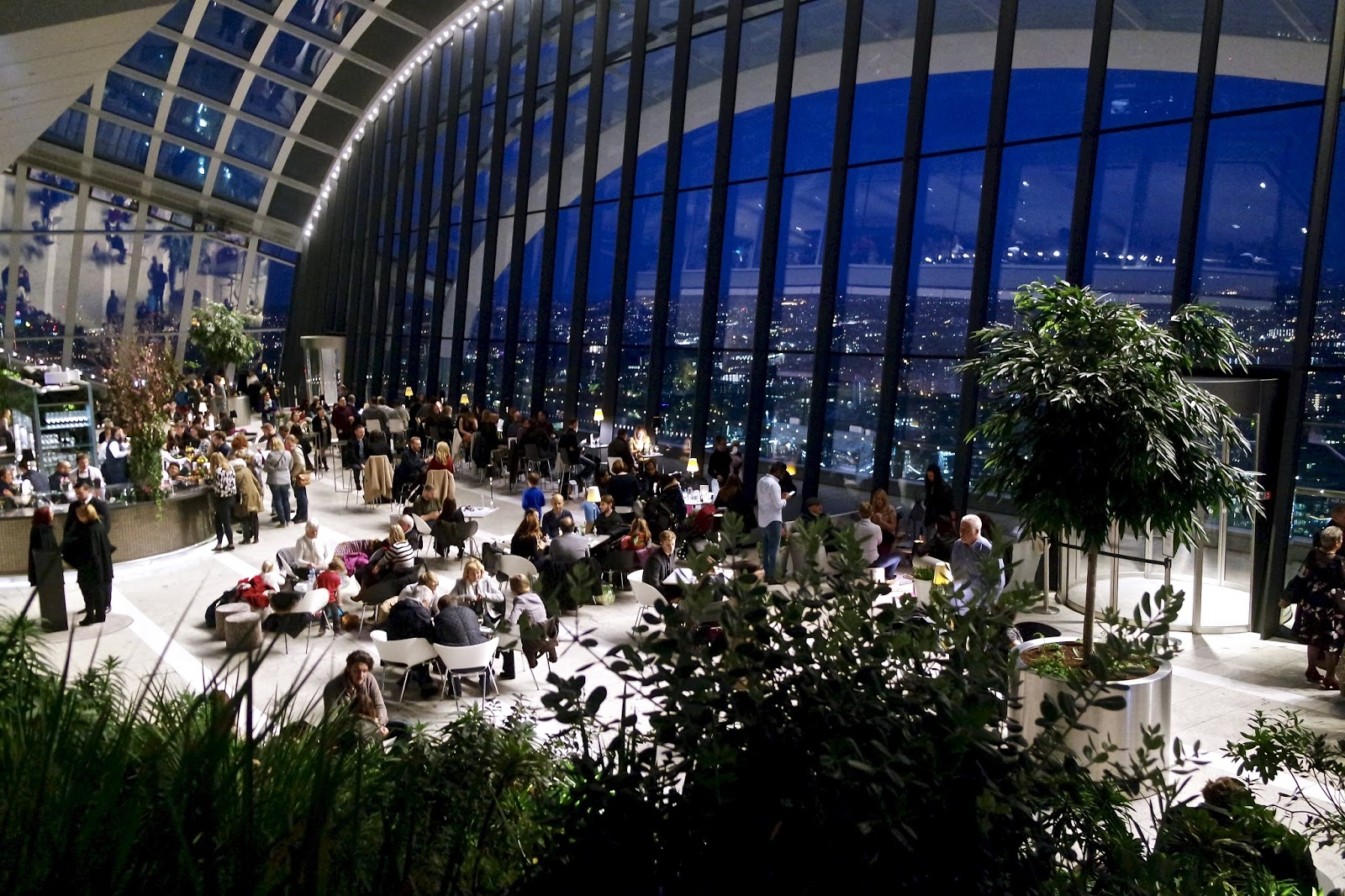 Things To Do In London || Sky Garden & Sky Pod Bar