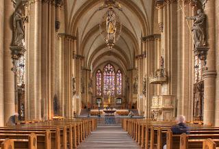 Interior Catedral de Paderborn