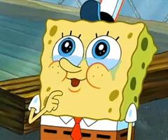 Om Animation Wallpaper Acreths Spongebob Crying