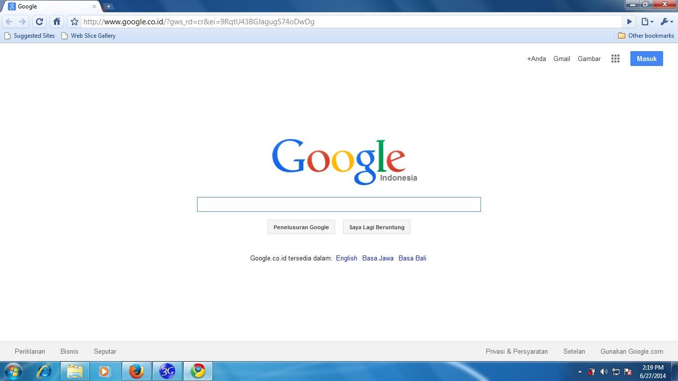 Google sebagai Amerikanya internet