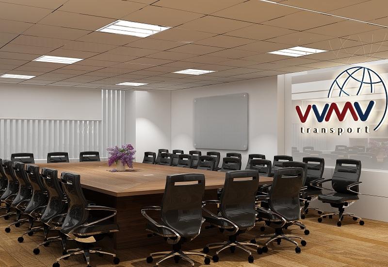 Thiết kế văn phòng chuyên nghiệp sử dụng sàn gỗ công nghiệp