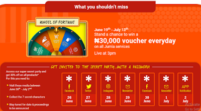 jumia_at_5_earlier_promo Jumia 5th Year Anniversary: You Are Getting Up to 70% OFF! Take a Sneak Peek into What's Coming Your Way Apps