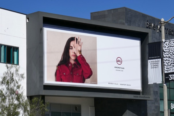 AG Jeans More than S19 billboard