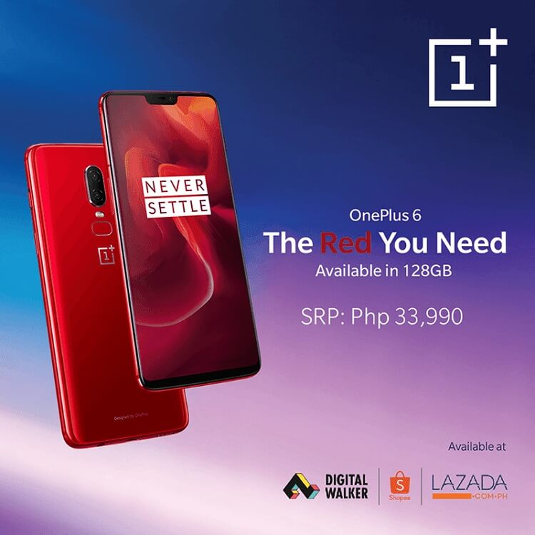 OnePlus 6 Red Now Available in PH!