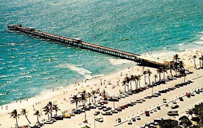 Lake Worth Beach And Pier 1977