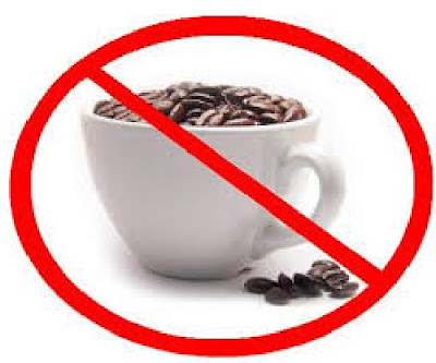 Reduce the caffeine consumption