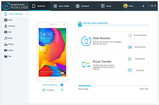 Bilgisayar ile Android Veri Kurtarma Yazılımı