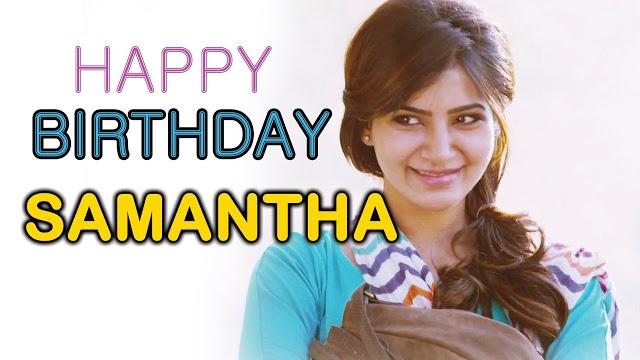 Samantha Ruth Prabhu  Birthday Celebrations