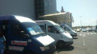 Microbuze gratuite Auchan City Constanta Sud,