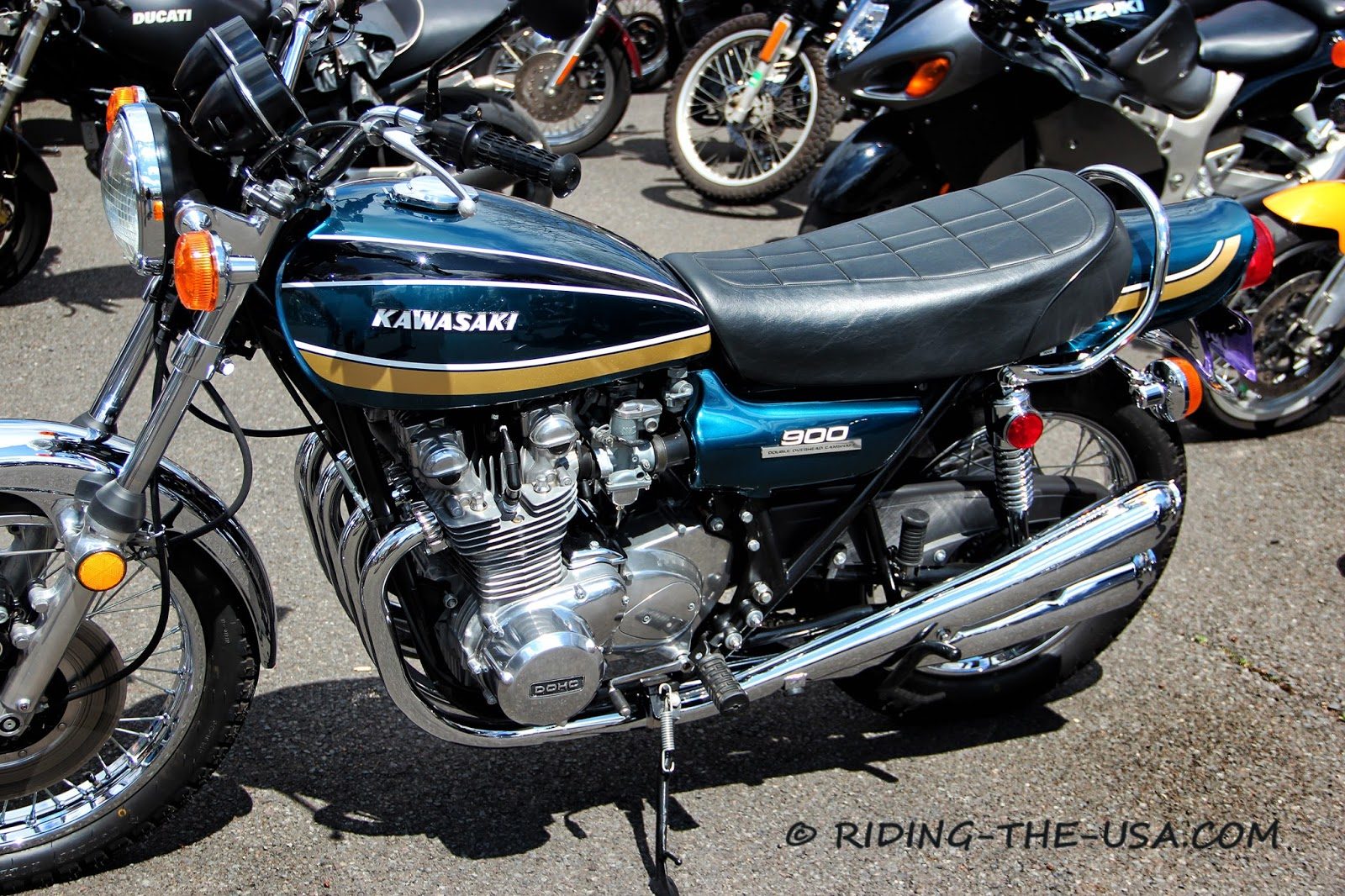 riding the usa: gathering of the norton's 2014 - 2