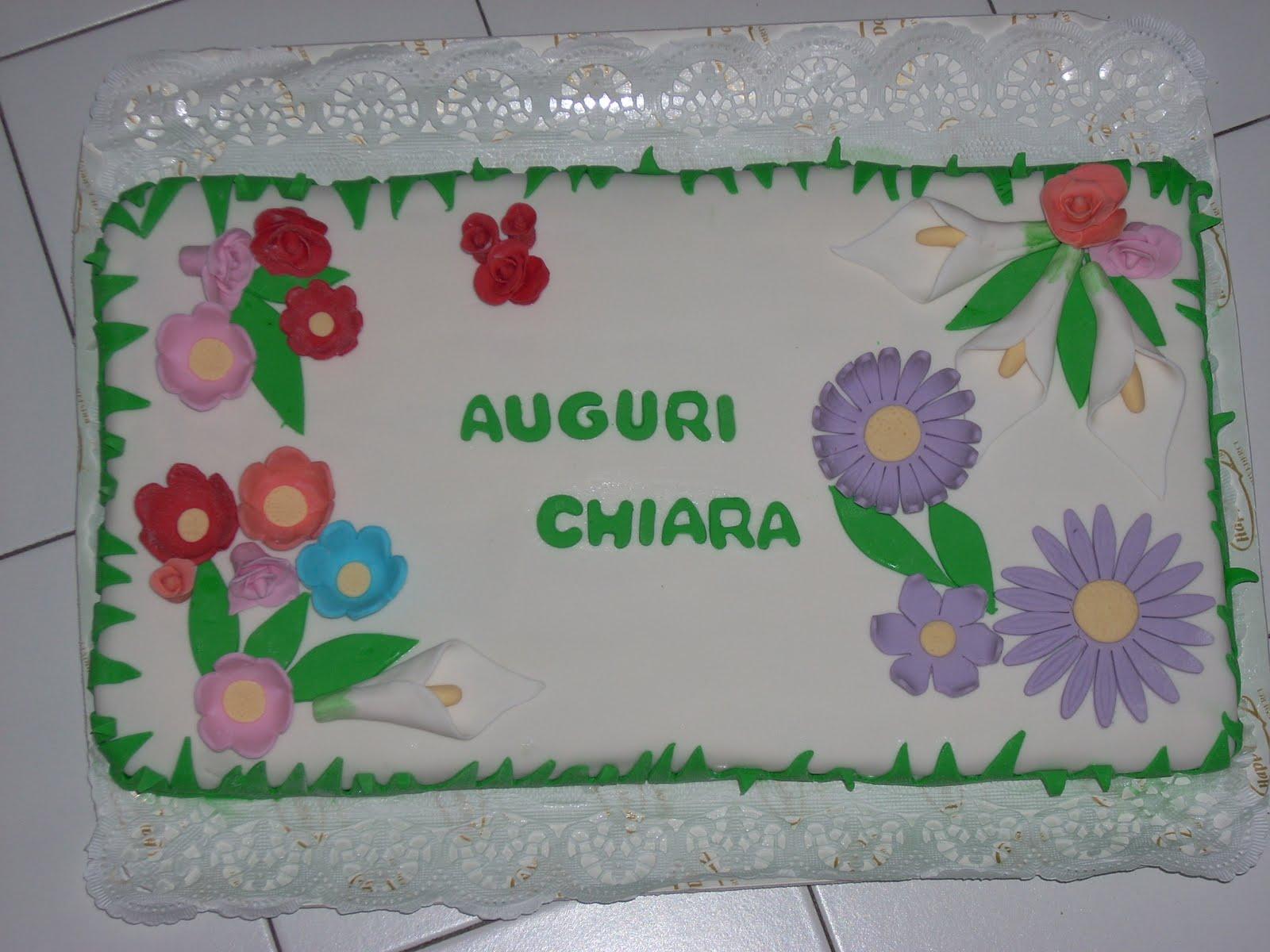 Elisa S Cakes Torta Compleanno Chiara