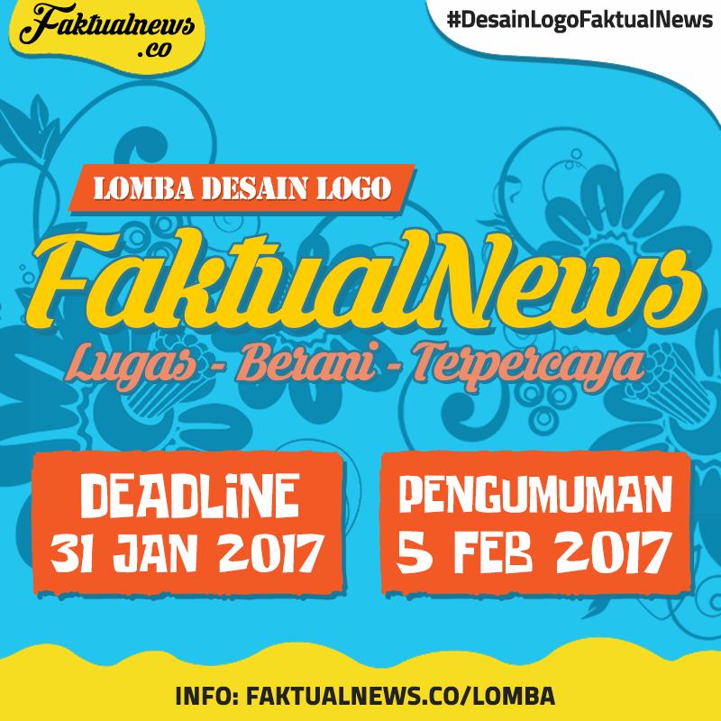 second image for Pengumuman Pemenang Lomba Desain Logo Pkkmb 2019 with Lomba Desain Logo FaktualNews 2017   LOMBA ASIA