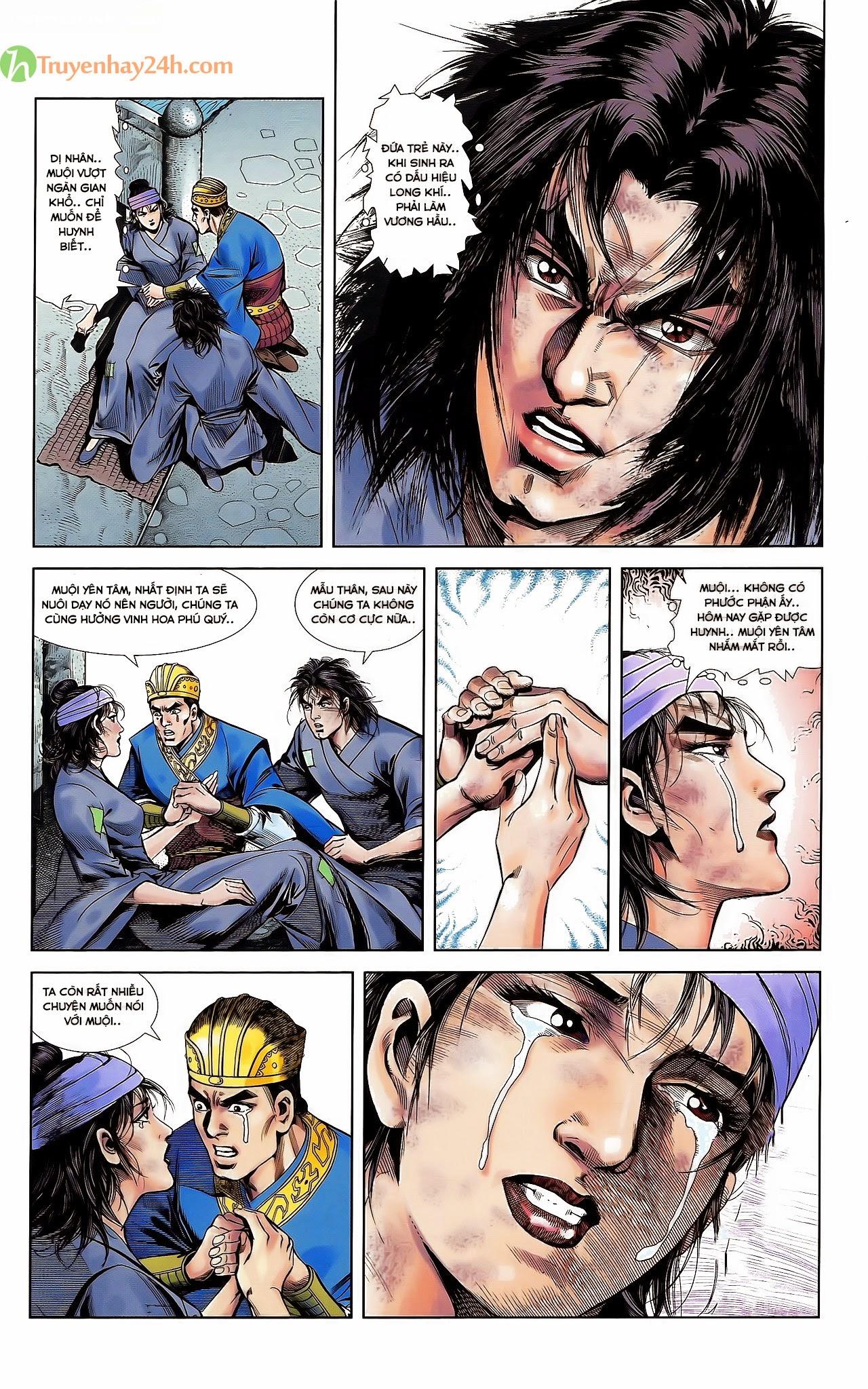 Tần Vương Doanh Chính chapter 30 trang 8